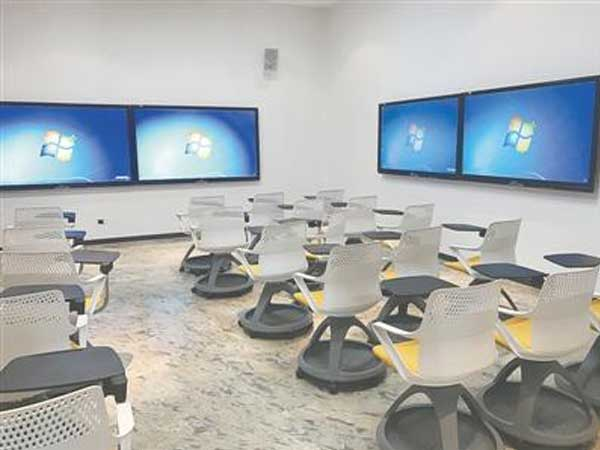 High efficiency of multi-screen interactive office