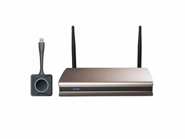 How to use the commercial wireless screen projector